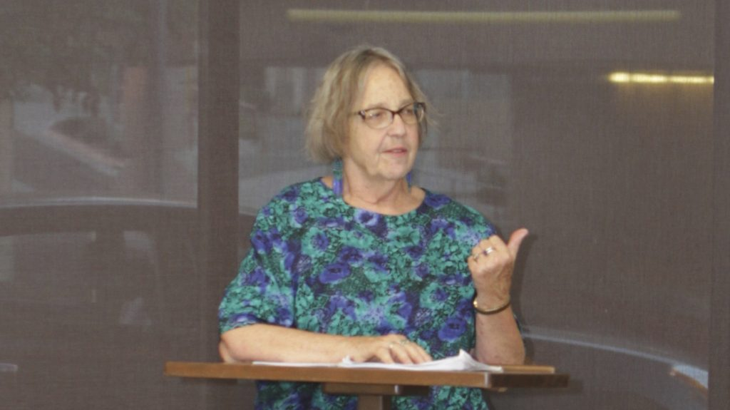 Kate Yavenditti Speaks to the NAACP about CRB Reform – NAACP