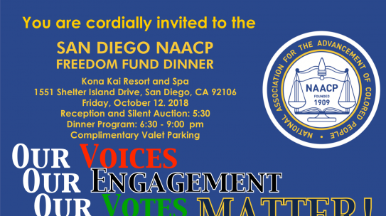 2018 Freedom Fund Dinner Tickets Available!