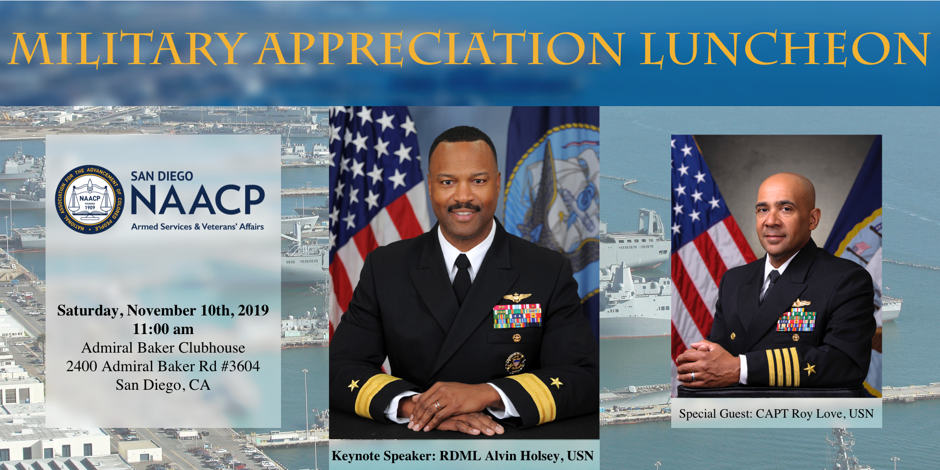 Tickets Now Being Sold for Military Appreciation Luncheon