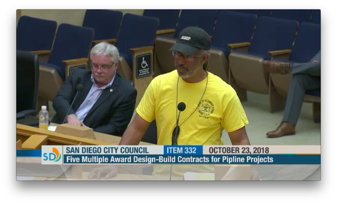 Watch: NAACP Vice President Honoré Urges Contracts Equity