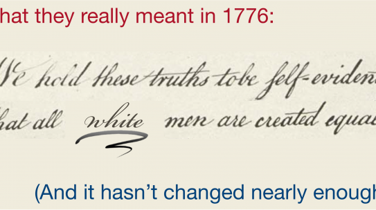The 4th of July, 400 Years Later