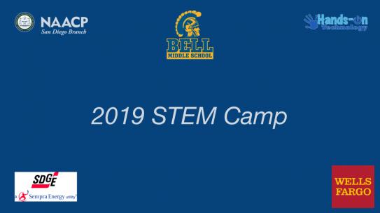 Watch: 2019 NAACP San Diego Branch STEM Camp