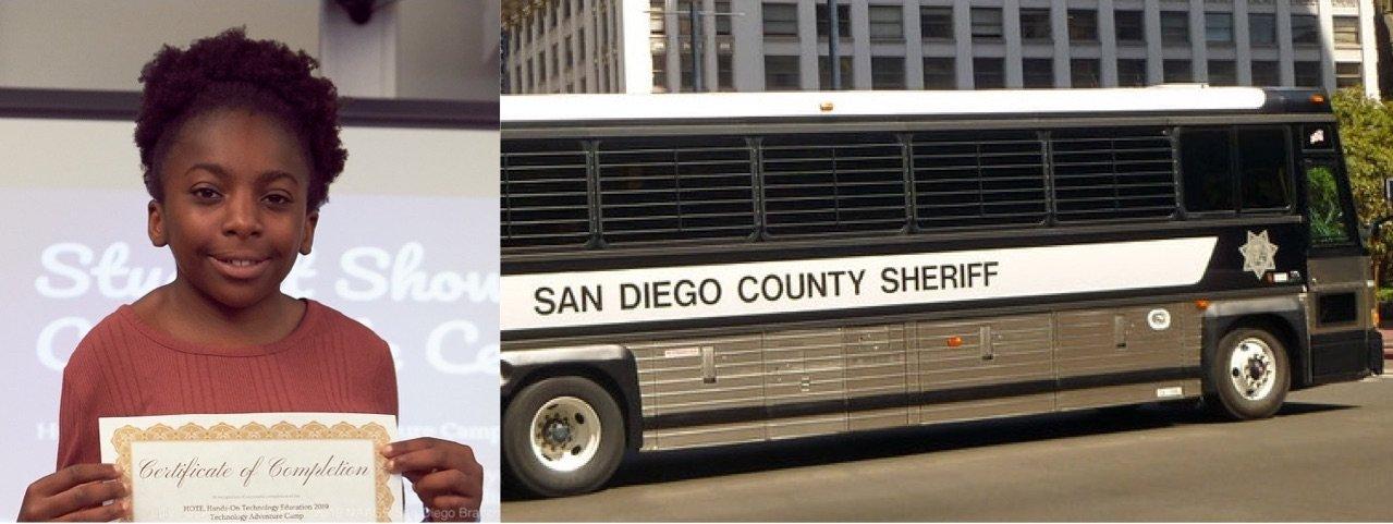 Children Don't Belong on Prison Buses