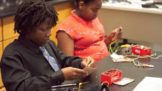 Watch: STEM Camp on News 8!