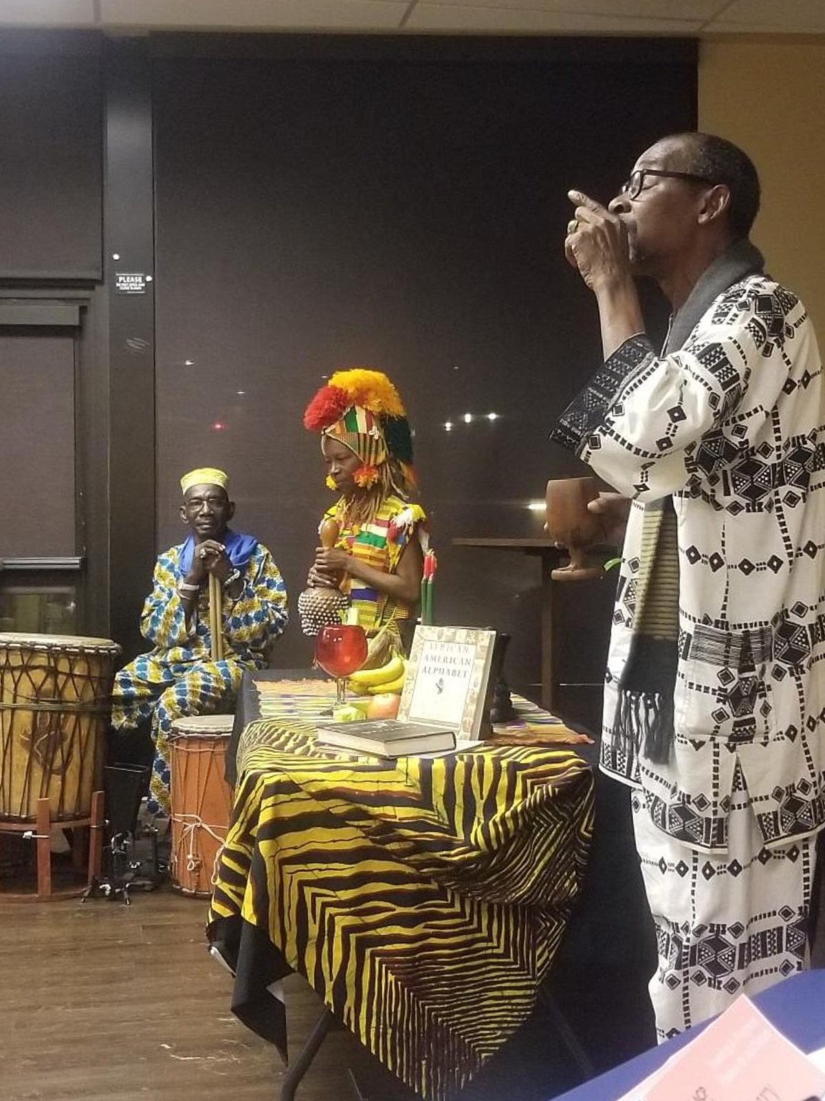 Kwanzaa Opening Celebration at December 5th Annual Meeting