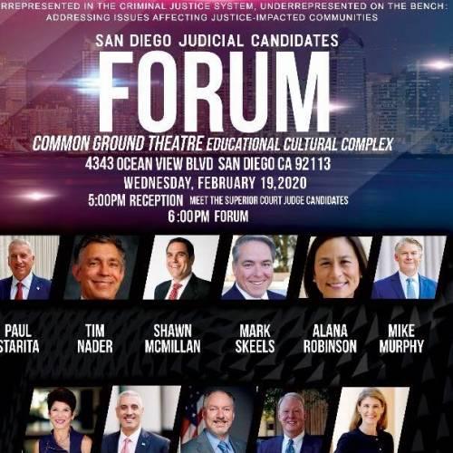 Feb 19 Superior Court Judges' Forum