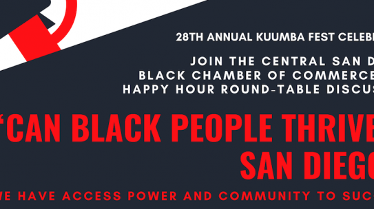 Black Chamber of Commerce: Can Black People Thrive in San Diego?