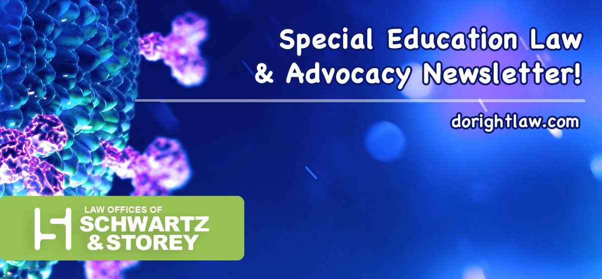 Special Education Information Courtesy of Schwartz & Storey