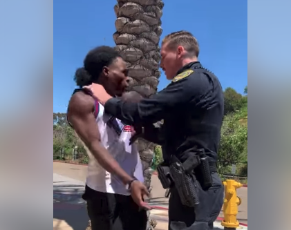 """""""Assault"""" on a """"Peace"""" Officer in La Mesa"""