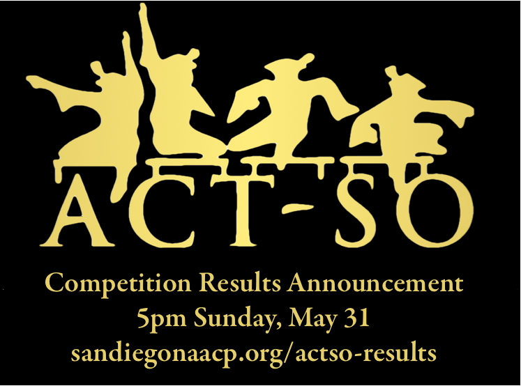 ACT-SO Results to be Announced