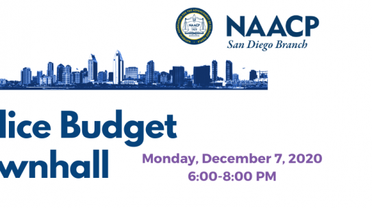 Dec 7: Police Budget Townhall with the IBA