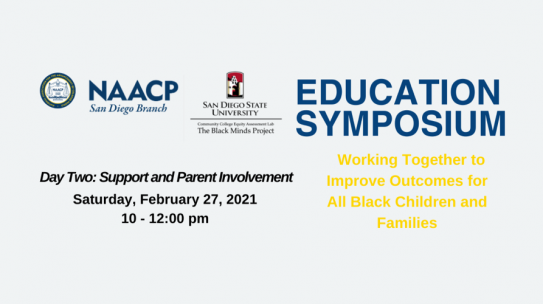 Working Together to Improve Outcomes for all Black Children and Families