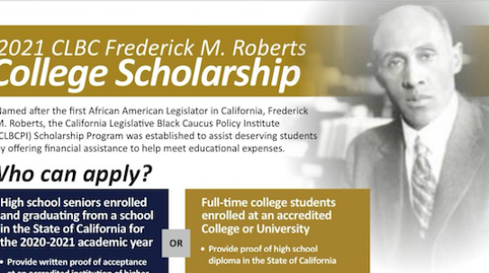 CLBC Frederick M Roberts Scholarship